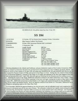 SS-184 History, Part 1